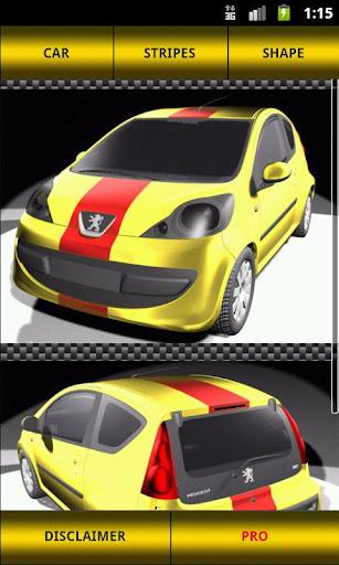 Peugeot 107 Stripes LiTE