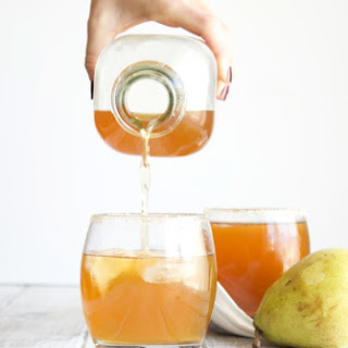 Spiced Pear Cocktail