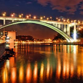 Arrabida Bridge by Antonio Amen - Buildings & Architecture Bridges & Suspended Structures
