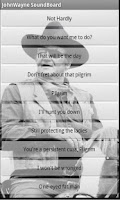Screenshot of John Wayne Soundboard
