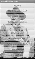 Screenshot of John Wayne Soundboard