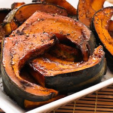 Agave and Balsamic Glazed and Roasted Buttercup Squash