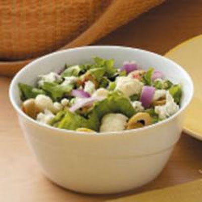Cauliflower Tossed Salad