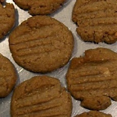 Soft Peanut-Butter Cookies