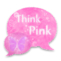 GOSMSTHEME Think Pink Theme icon