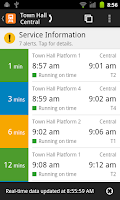 Screenshot of TripView Sydney