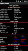 Screenshot of Meteocecchina