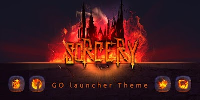 Screenshot of Sorcery GO Launcher Theme
