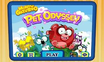 Screenshot of Mundo Gaturro: Pet Odyssey