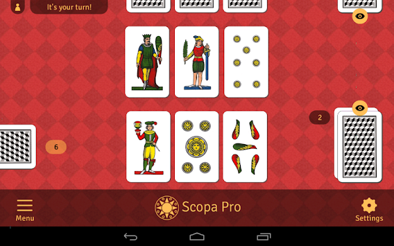 Scopa Pro APK screenshot thumbnail 11