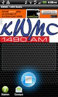 Screenshot of KWMC 1490 Radio