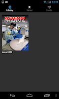 Screenshot of Contract Pharma