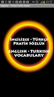 Screenshot of Turkish to English Dictionary