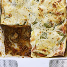 Lasagne With Spinach & Mushrooms