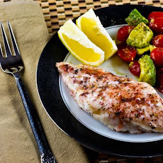 Spice-Rubbed and Roasted Orange Roughy Fillets