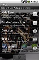 Screenshot of Live Wallpaper Motorbike Free