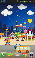 Screenshot of Happy Park Live Wallpaper