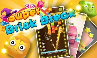 Screenshot of Super Brick Break 3D