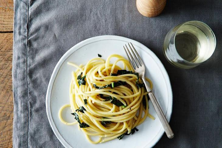 Pasta Cacio, Pepe e Cavolo Nero Recept   Yummly