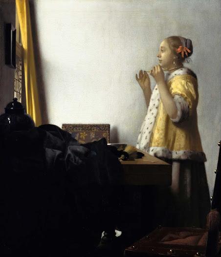 Vermeer Jan, Ragazza con collana di perle