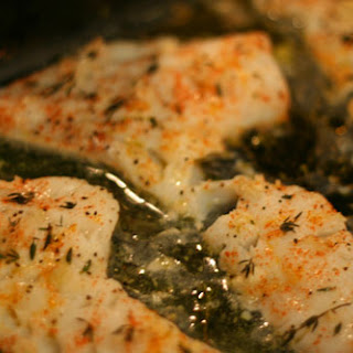 Baked Lemon Herb Cod