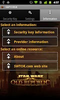 Screenshot of The Old Republic™ Security Key