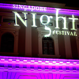 Singapore Night Festival  by Meidy Huang - News & Events Entertainment ( #night #festival #light #singapore #event )