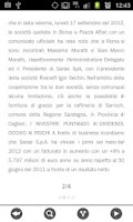 Screenshot of News finanza e borsa italiana