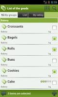 Screenshot of LazyShopper - Shopping List