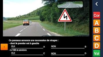 Screenshot of PREPACODE - Code de la route
