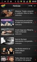 Screenshot of Los 40 para Android