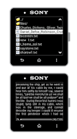 Screenshot of Smart Reader for SmartWatch