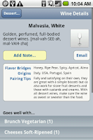 Screenshot of Pair It! Expert Wine Pairing