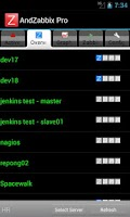 Screenshot of Andzabbix Lite