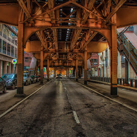Under the L by Ron Meyers - Transportation Other