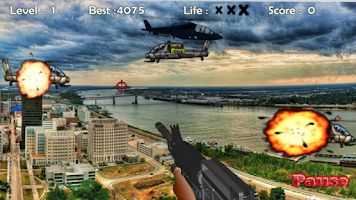 Screenshot of Air Assault: Shooting Game
