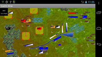 Screenshot of Napoleonics: Quatre Bras