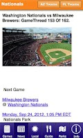 Screenshot of Spring Training Guide