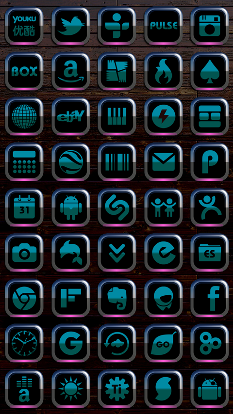 CALAIDEON Next Launcher Theme Screenshot 3