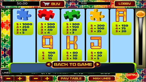 Puzzle Casino Slots - screenshot
