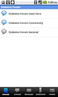 Screenshot of Diabetes Forum For Diabetics
