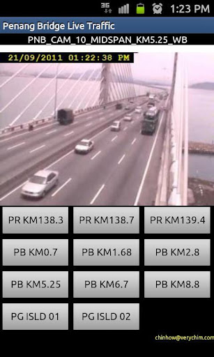 Penang Bridge Traffic Cam