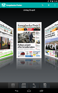 Kungsbacka-Posten - screenshot