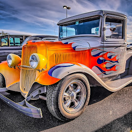 John Brown's Ford by Ron Meyers - Transportation Automobiles