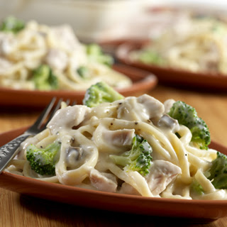 Turkey & Broccoli Alfredo