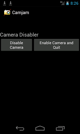 Camera Disabler Locker