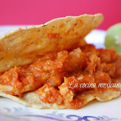 Pork Rind in Red Sauce