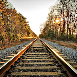 Wade by Lou Plummer - Transportation Railway Tracks (  )