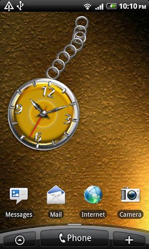 Shiny Analog Clock