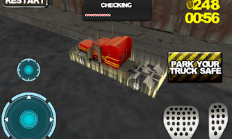 Screenshot of Truck Parking 3D Pro